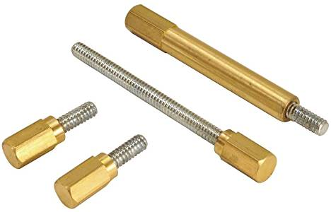 Extended Float Bowl Hardware Kit for S&S Super E/G Carburetor; Brass/ Stainless: