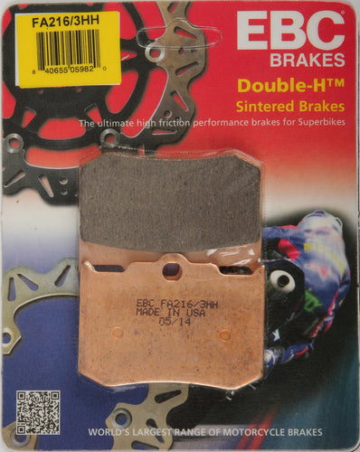 Front / Rear EBC brake pads, 2000-2012 Big Dog, American Ironhorse, other: