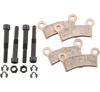 EBC Double-H Sintered Pads Kit: Tri Glide/ Street Glide Trike: REAR: