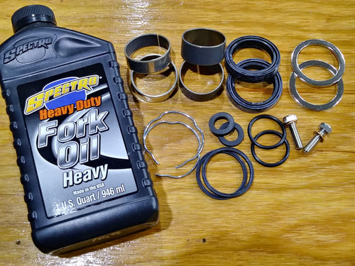 Premium 41mm Fork Rebuild kit: '01-'10 Big Dog ( except Bulldog, '09-up Wolf )