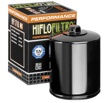 Load image into Gallery viewer, Hiflofiltro Racing Oil Filters For V-Twin: Twin Cam/ M8; Chrome or Black