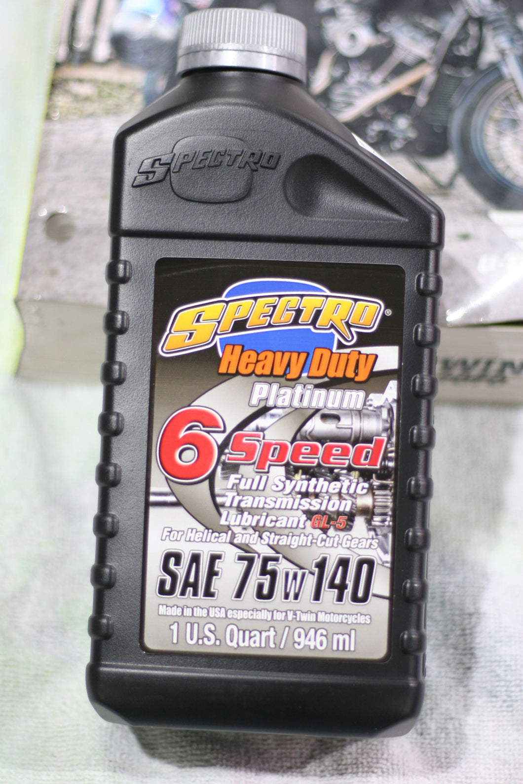 Spectro Heavy Duty Platinum 75/140 6-speed Transmission Oil, 1 US Qt