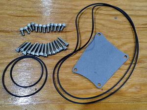 Primary cover service kit: '05-'10 Big Dog; Stainless Steel Hardware. Made in USA!