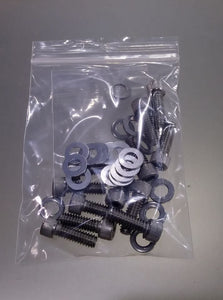 S&S rocker box top cover hardware kit; stainless steel: