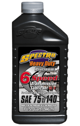 ( 6 qts ) Spectro Heavy Duty Platinum 75/140 6-speed Transmission Oil, 6 U.S qts: Free Shipping!