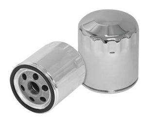 S&S Oil Filter:  Evolution / XL: Chrome or Black