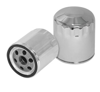 S&S Oil Filter: Twin Cam / M8: Chrome or Black