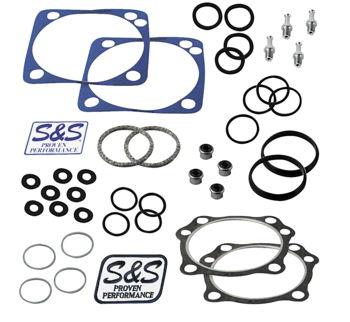 S&S Top End Gasket Kit, 4-1/8