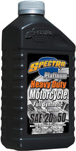 Load image into Gallery viewer, ( case ) Spectro Heavy Duty Platinum Full Synthetic 20/50 Engine Oil, 12 U.S qts: Free Shipping!