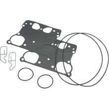"Load image into Gallery viewer, TP rocker box gasket kit, 2005-E2007 Big Dog, 4-1/8"" bore"