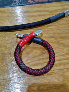 Battery Cable kit; 2 gauge (High Performance): '05-'10 Big Dog, All models: Made in USA