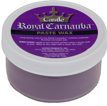 Castle® Royal Carnauba™ paste wax; 16oz