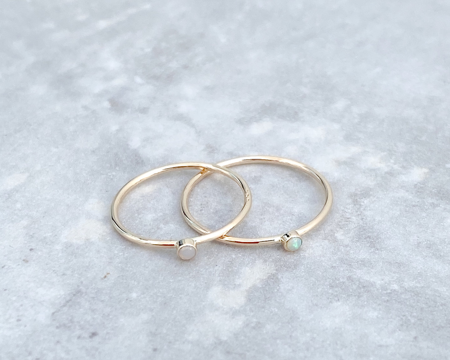 Solid Gold Rings