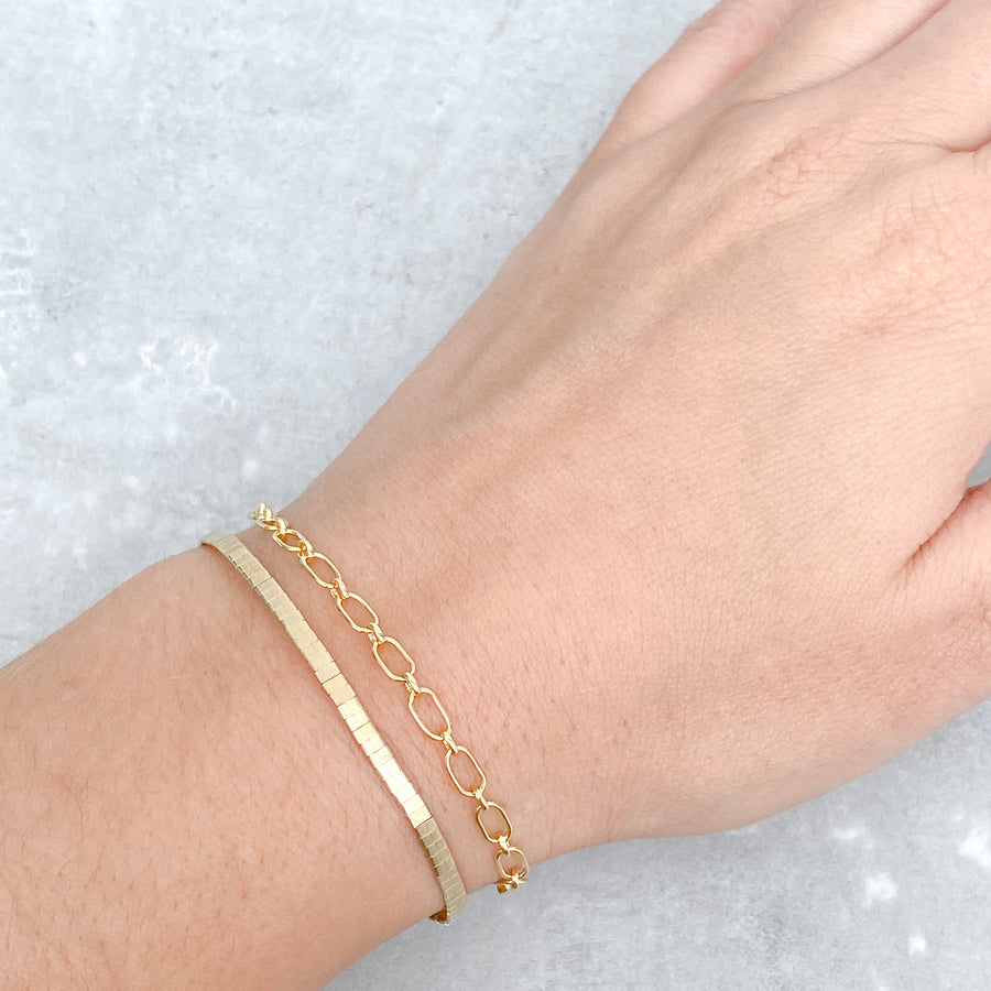 ATHINA Bracelet 14ct Yellow Gold Filled