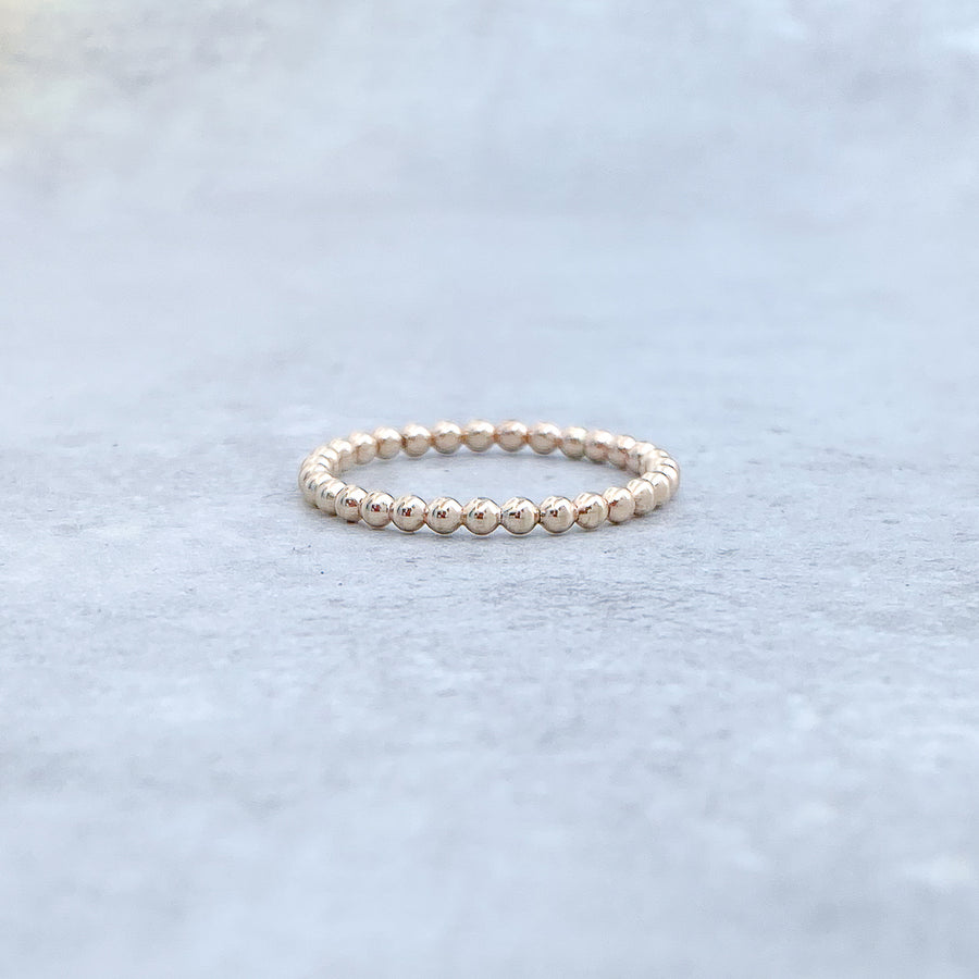 BALL Ring 14ct Yellow Gold Filled