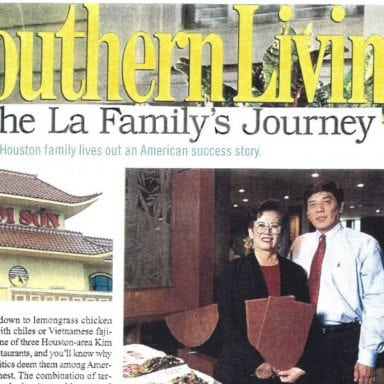 SOUTHERN LIVING: THE LA'S FAMILY JOURNEY