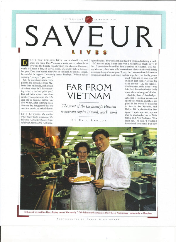 SAVEUR: FAR FROM VIETNAM