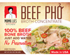 Mama La's Meal Kit 4-Pack - Beef Pho and 20 Packs of Pho Noodles