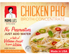 Mama La's Meal Kit 4-Pack - Beef/Chicken Broth Combo Pho and 20 Packs of Pho Noodles