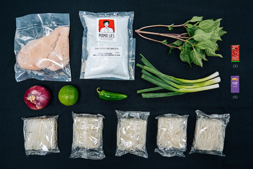 Mama La's Complete Chicken Pho Kit with Chicken Breast Meat