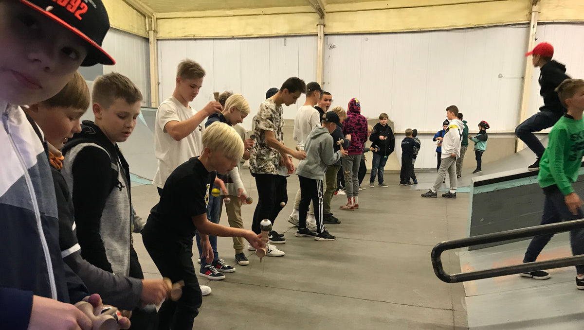 Kendama Event in Tartu Estonia by Okendama