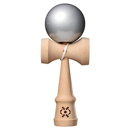 Kendama USA Tribute Jumbo - Metallic Silver