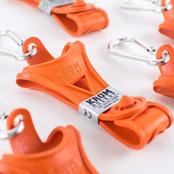Krom HOOK-UP holder Orange