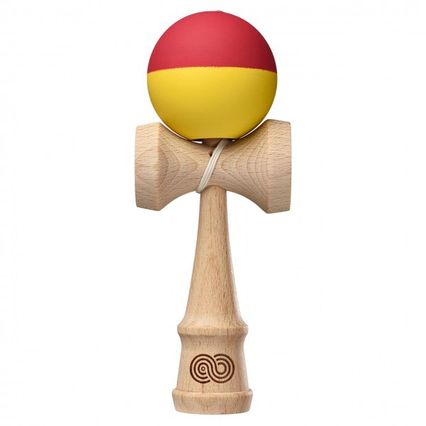 KendamaUSA Kaizen 1.0 Half Split - Red and Yellow - Silk