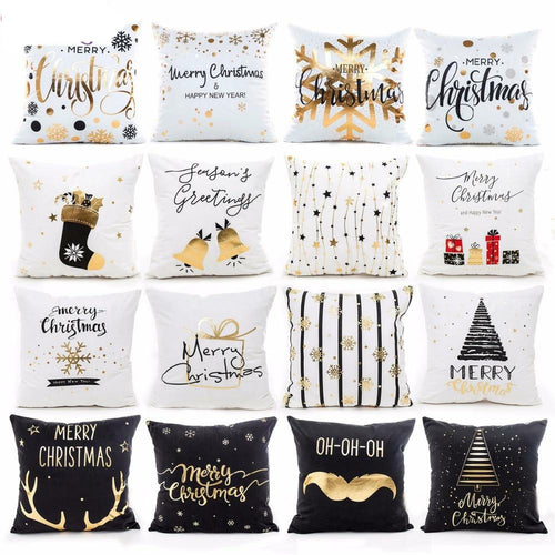 Merry Christmas Cushion Cover - Les Value