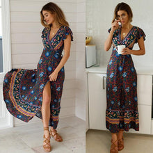 Load image into Gallery viewer, Miami beach style boho maxi - Les Value