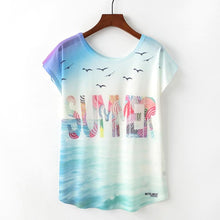 Load image into Gallery viewer, Summer Love Tshirts For Women - Les Value