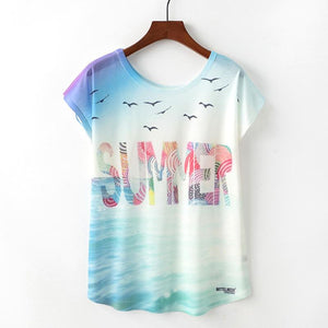 Summer Love Tshirts For Women - Les Value