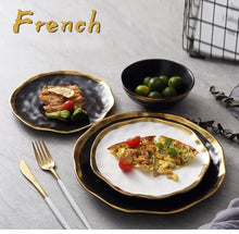 Load image into Gallery viewer, Romantic dinner set | Ceramic Dinner Set - Les Value