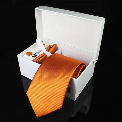 Formal Ties Handkerchief Sets | Windsor Knot Ties - Les Value