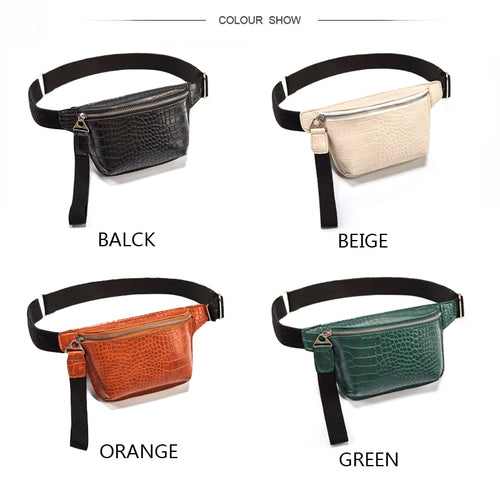 Multicolored Women chest bag - Les Value