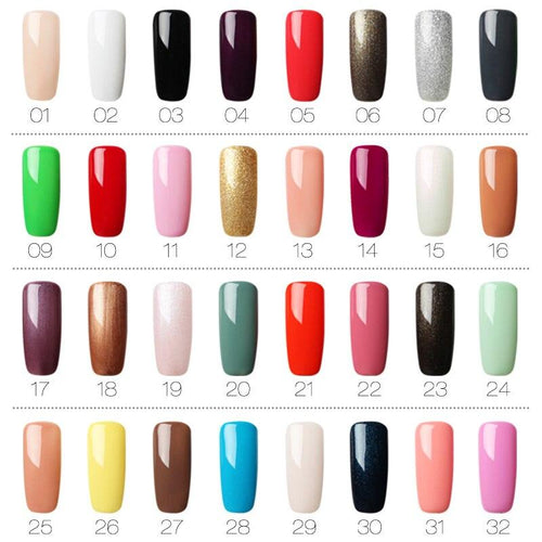 Gel nail polish for toes | Gel nail polish natural hands - Les Value