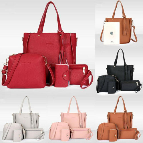 Stylish Handbags set of 4 - Les Value