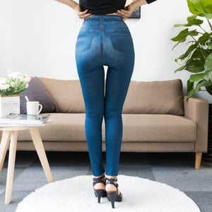 Women Denim Jeans Leggings - Les Value