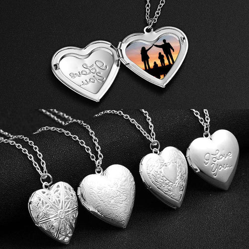 Love Heart Locket Pendants - Les Value