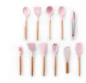Silicone Cooking Tools - Les Value