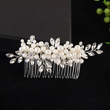 Load image into Gallery viewer, Hair Comb Wedding Jewelry - Les Value