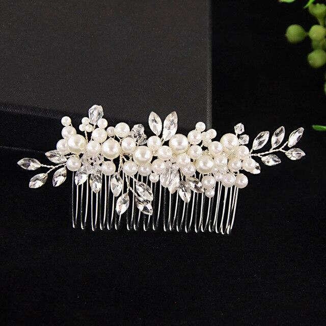 Hair Comb Wedding Jewelry - Les Value