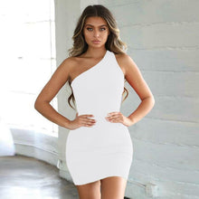 Load image into Gallery viewer, Summer Bodycon Dress  | Sexy Club Dresses  | Mini Bodycon dress  | Nightclub bodycon dress - Les Value
