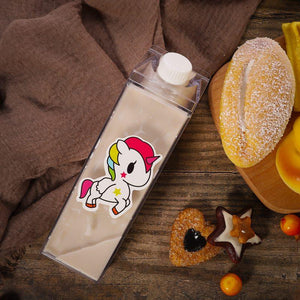 Milk carton water bottle | BPA Free Water bottle - Les Value