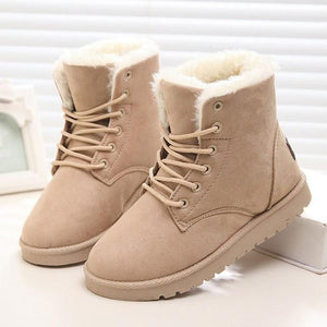 Warm snow boots for women - Les Value