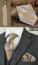 Load image into Gallery viewer, Silk Ties For Dad | Father's Day Gift | Dad Ties - Les Value