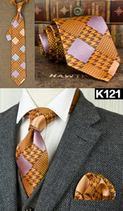 Silk Ties For Dad | Father's Day Gift | Dad Ties - Les Value