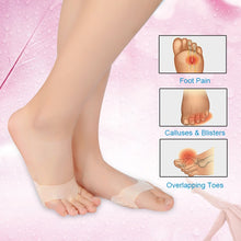 Load image into Gallery viewer, Silicone Pads for pain under ball of foot - Les Value