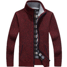 Load image into Gallery viewer, Men's Knitted Sweater Coat - Les Value