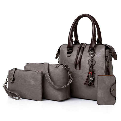 Leather handbags set - Les Value